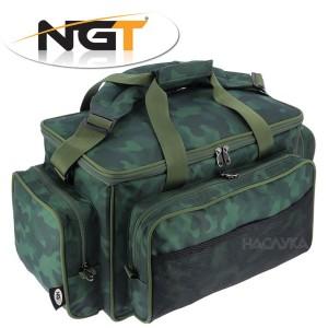 Шаранджийски хладилен сак NGT Carryall 709 Camo