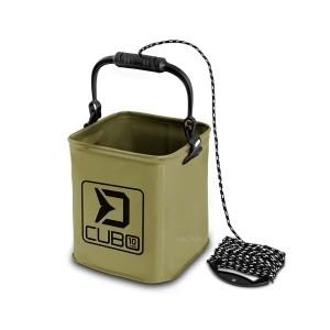 Сгъваема кофа Delphin Cubo - 10л