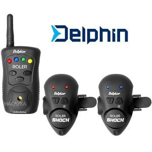Комплект сигнализатори за въдица Delphin Roler Shock 2+1