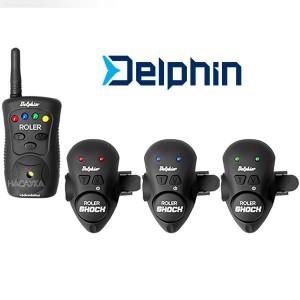 Комплект сигнализатори за въдица Delphin Roler Shock 3+1