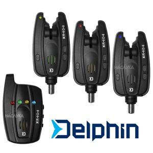Комплект сигнализатори за шарански риболов Delphin Totem 3+1