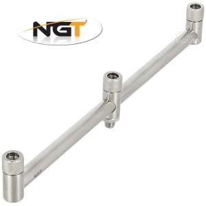 Троен бъз бар от неръждаема стомана NGT Stainless Steel Buzz Bar - 3 rod
