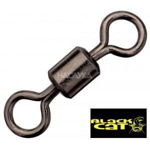 Усилени вирбели Black Cat Rolling Swivel - 170 кг