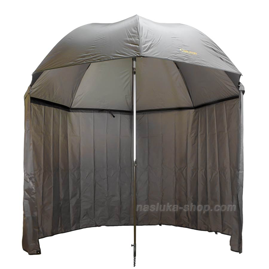 Шарански чадър със странична тента Delphin - 2.50м
