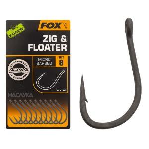 Куки Fox Edges Zig Floater
