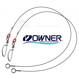Усилени повод за хищници Owner Wire Leader TF-W2