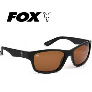 Слънчеви очила Fox Casual - Matt Black / Brown