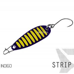 Блесна клатушка за пъстърва Delphin Strip - Indigo
