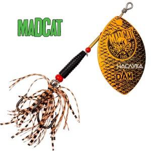 Въртяща блесна за сом MADCAT Big Blade Spinners - Goldfish