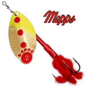 Блесна Mepps Lusox - OR, Fluo
