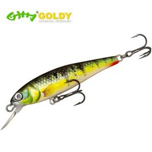 Воблер Goldy Gold Fish 5.5см - цвят MG