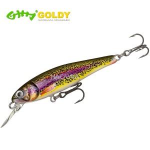 Воблер Goldy Gold Fish 5.5см - цвят MPK