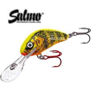 Плуващ воблер Salmo Hornet - цвят RIP