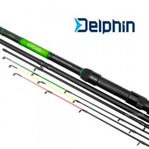 Фидер въдица Delphin Wasabi Feeder 3.30м - 100г