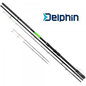 Фидер въдица Delphin Wasabi Feeder 3.60м - 100г