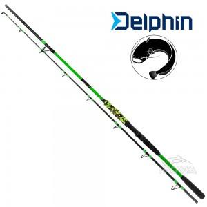 Въдица за тежък спининг Delphin Hyperio 2.40м - 120г