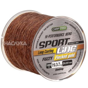 Влакно за шаранджийски риболов Carp Pro Sport Line Flecked Gold