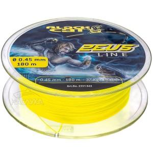 Плетено влакно за риболов на сом Black Cat Zeus Line - 180м