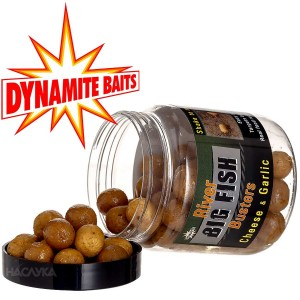 Дъмбели в ДИП Dynamite Baits Big Fish River - Cheese-Garlic
