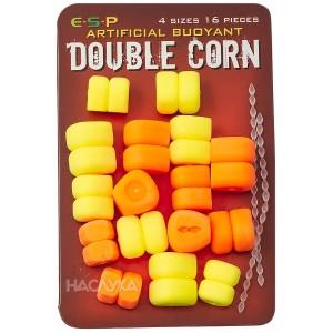 Двойна плуваща царевица E.S.P. Double Corn - Оранжево и Жълто
