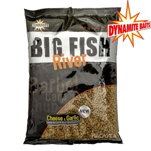 Пелети Dynamite Baits Big Fish River - Cheese-Garlic