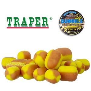 Плуващи дъмбели Traper Dumpels Pop-Up Method Feeder - Ванилия и Скопекс