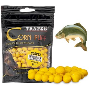 Пуканки за стръв Traper Corn Puff - Скопекс