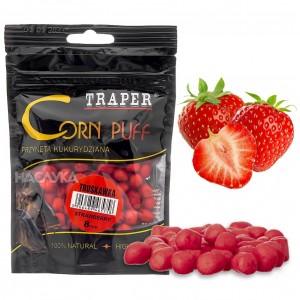 Пуканки за стръв Traper Corn Puff - Ягода