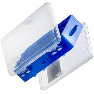 Двулицева кутия за риболовни аксесоари Filstar H-0313B Blue