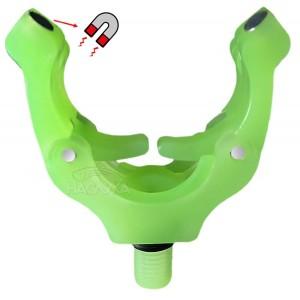Глава за колче с магнит - светеща