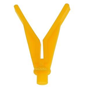 V-образна глава за колче и род под