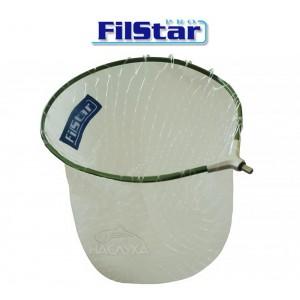 Глава за кеп Filstar с монофилна мрежа без шев