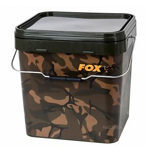 Шаранджийска кофа FOX Camo Square Bucket