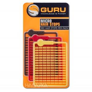 Стопери Guru Micro Hair Stops - 360 бр.