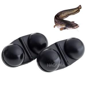 Черни тракалки за риболов на сом