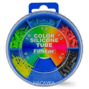 Цветен силиконов шлаух в кутия Filstar