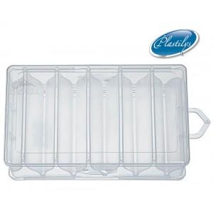 Двойна кутия за воблери Plastilys - 10 отделения