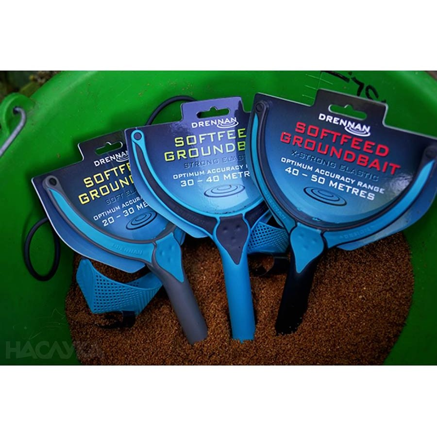 Прашка за захранване Drennan Softfeed Groundbait Soft Latex 20-30м
