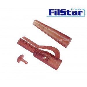 Клипс за олово Filstar Lead Clip With Lock + Tail Rubber