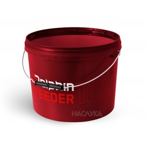 Кръгла кофа с капак Delphin Feeder - 10 литра