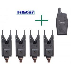 Комплект сигнализатори с централа FilStar FSBA-22 - 4+1