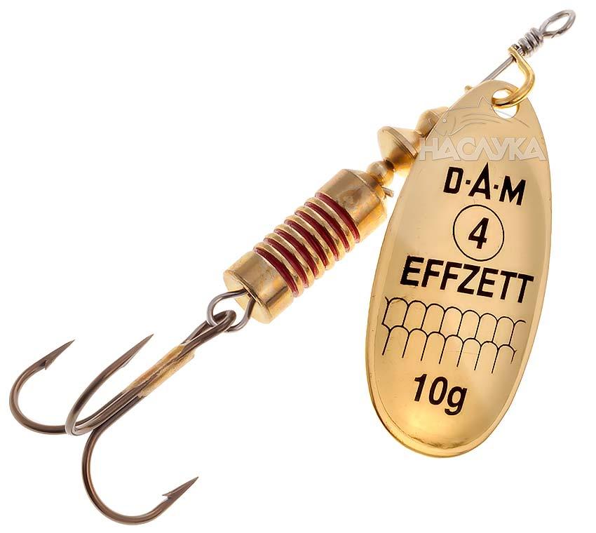 Блесна D.A.M. Effzett Spinner - Gold