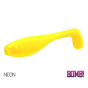 Силиконова примамка Delphin BOMB Fatty - цвят Neon
