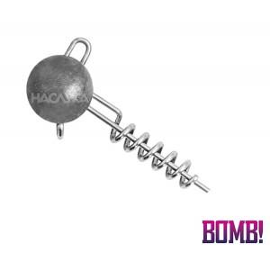 Джиг глава - Чебурашка със спирала Bomb Twisto