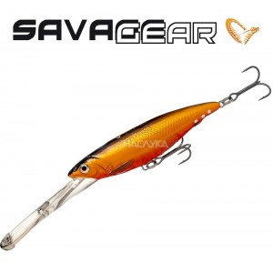 Воблер Savage Gear Iron Mask Deep Diver - цвят Red - Black