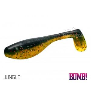 Силиконова примамка Delphin BOMB Fatty - цвят Jungle