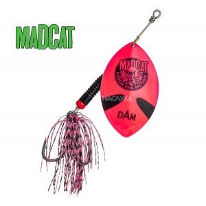 Въртяща блесна за сом MADCAT Big Blade Spinners - Pink