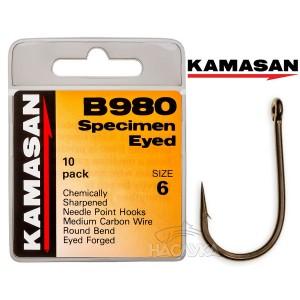 Куки Kamasan B980 Eyed