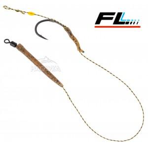 Монтажи за шарански риболов с алайнери и стопери FL Hair Rigs