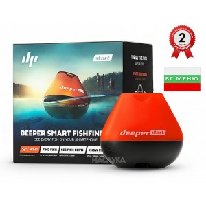 Безжичен сонар Deeper Start Smart Fishfinder Wi-Fi / BG Menu